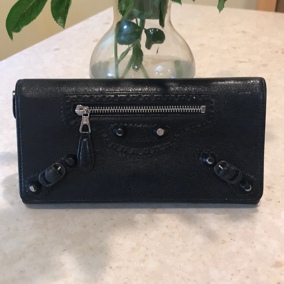Balenciaga Handbags - Authentic balenciaga leather wallet